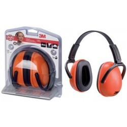 3M casque anti-bruit 1436C, orange / noir