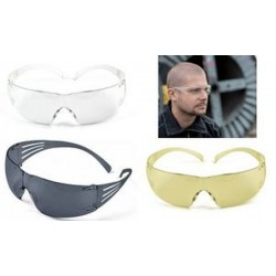 3M Lunette de protection SecureFit, incolore transparent