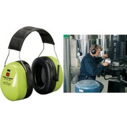 3M Peltor Optime III casque anti bruit H540AV, vert