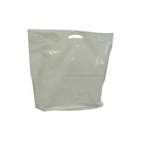 HAPPEL Sac Poly, blanc, LDPE, (L)510 x (P)50 x (H)560 mm