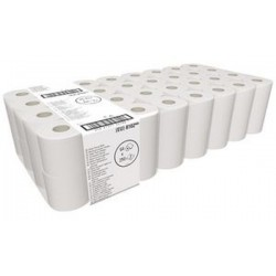 Papier toilette Tissue, 2 couches, blanc recyclé, grand