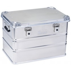 Allit Caisse de transport AluPlus ProfiBox S 73, argent