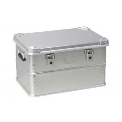Allit Caisse de transport AluPlus ProfiBox S 81, argent