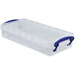 Really Useful Box Boîte de rangement 0,55 Litre, incolore