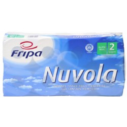 Fripa Papier hygiénique Nuvola, 2 couches, extra blanc